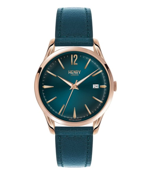Watch Henry London Teal