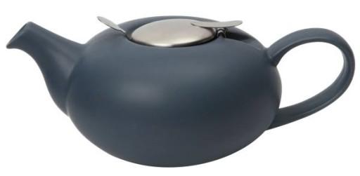 Teapot Filter Pebble Dark Blue