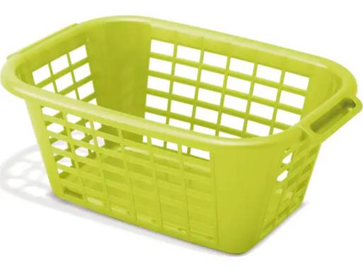 Rectangular Laundry Basket Lime
