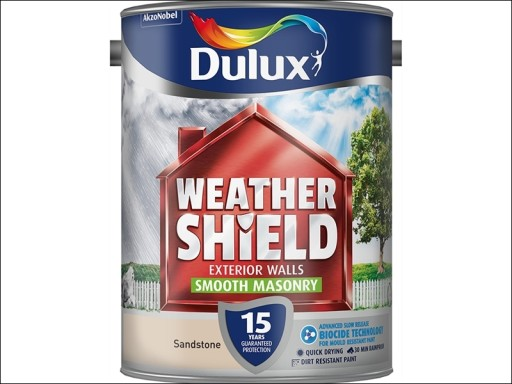 Dulux Weather Shield Smooth Sandstone 5L