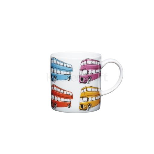 Kc Espresso Mug London Bus