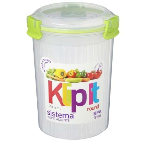 Klip It Container Round 1Lt