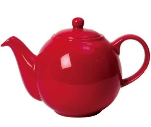 Teapot Red