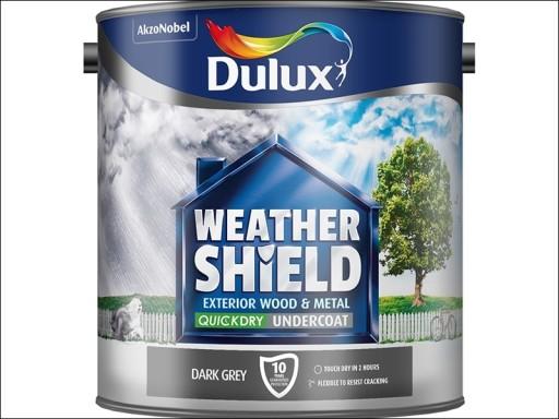 Dulux Weather Shield Qd Undercoat D.Grey 2.5L