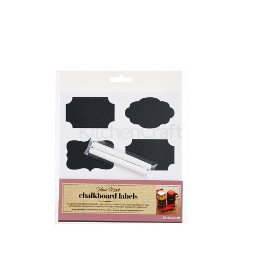 Chalkboard Labels And Chalk Paper