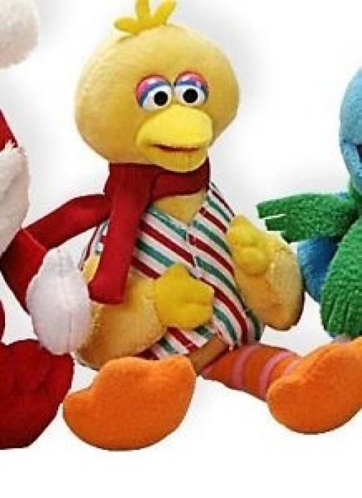 Gund Sesame Street Sound Toy Christmas 10