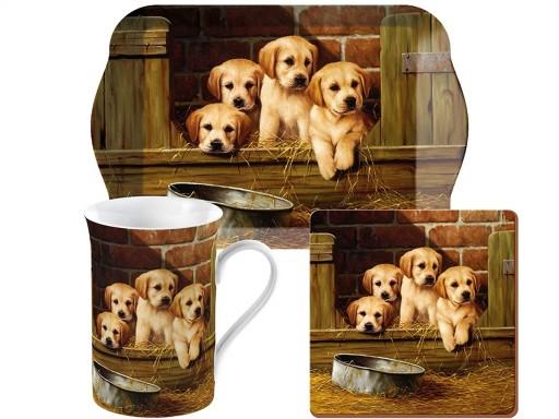 Tea Set Labrador Puppies Time For Tea