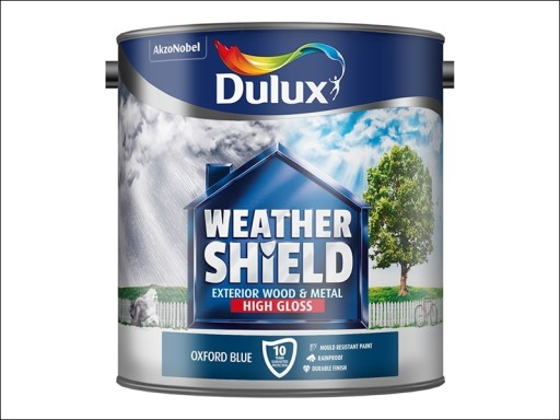 Dulux Weather Sheiled Gloss Oxford Blue 2.5L