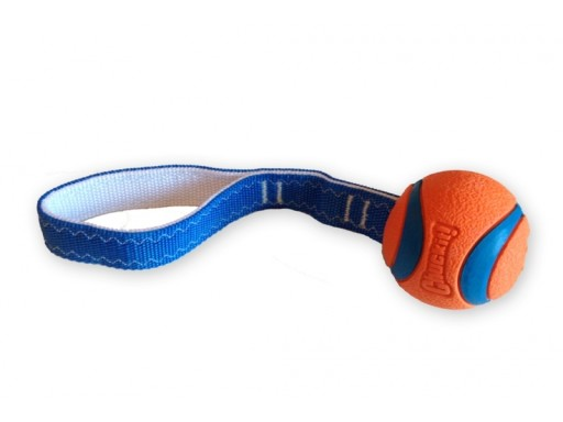 Chuckit! Ultra Tug Tough Dog Tug Toy Large 7.3cm
