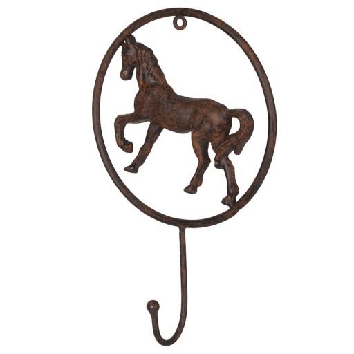 Metal Coat Hook Horse