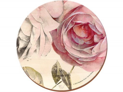 Creative Tops Round Antique Rose Placemats