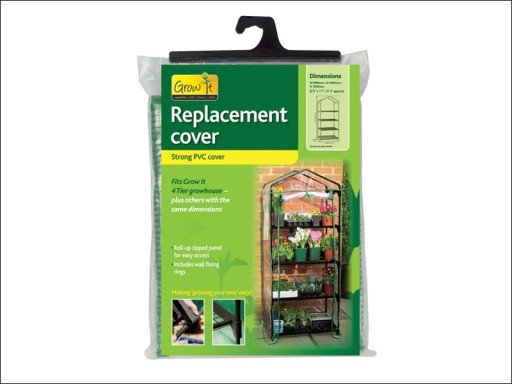 Gardman 08711 Growhouse Replacement Cover 4 Tier
