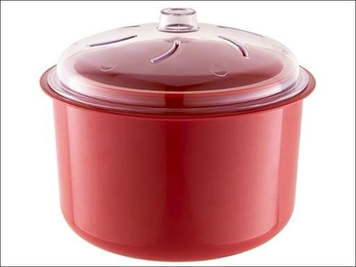 Easycook Ns600R Rice+ Veg Steamer Red