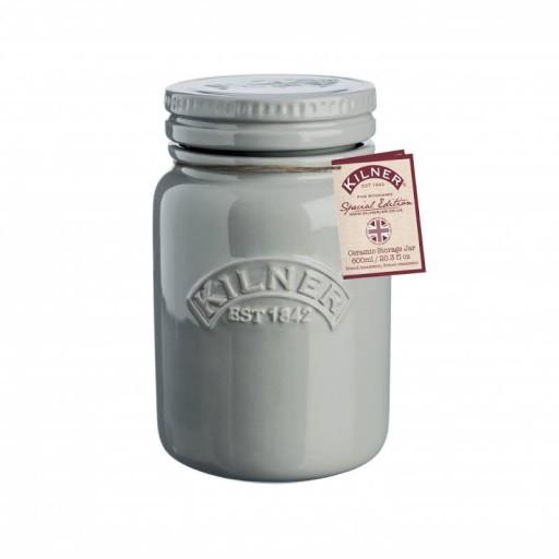 Kilner Storage Jar Grey