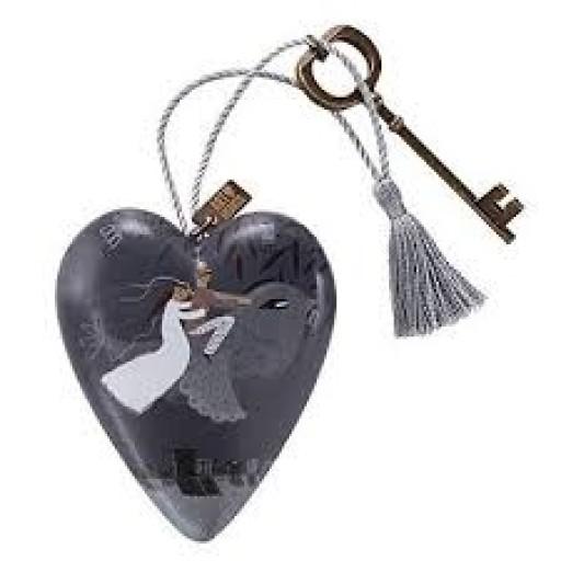 Art Heart Mr & Mrs