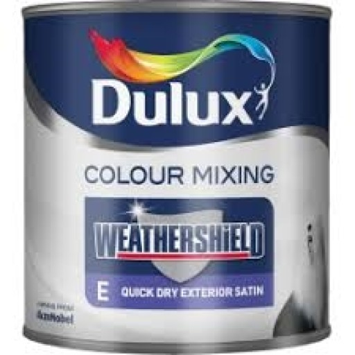 Dulux Weathershield Quick Dry Satin 1L