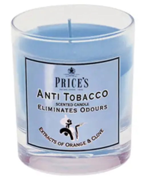 Prices Scented Candle Jar Anti Tobacco FR100616