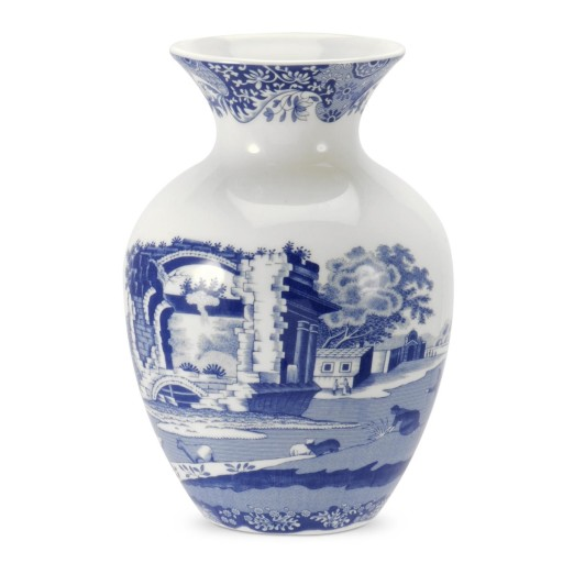 Blue Italian Vase
