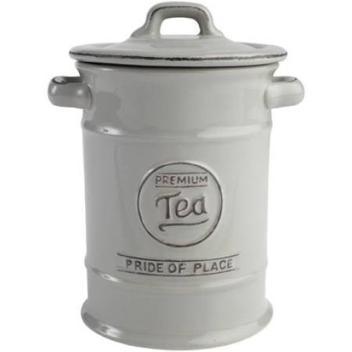 Pride Of Place Tea Cannister Grey