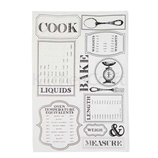 Tea Towel Set Cook Design