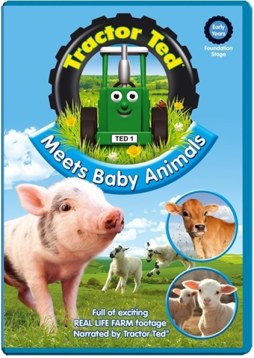 Tractor Ted Meet Baby Animals Dvd
