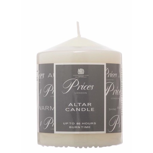 Prices Altar Candle 10 x 8cm ARS100616