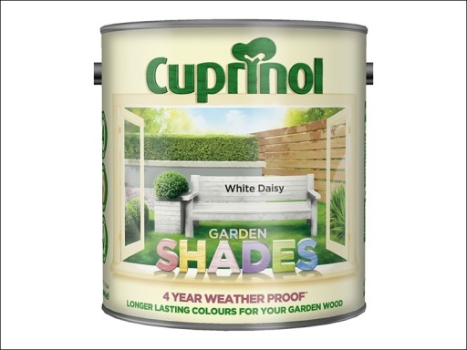 Cuprinol Shades White Daisy 2.5Ltr
