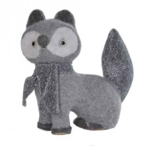 Fox Grey Wool Medium
