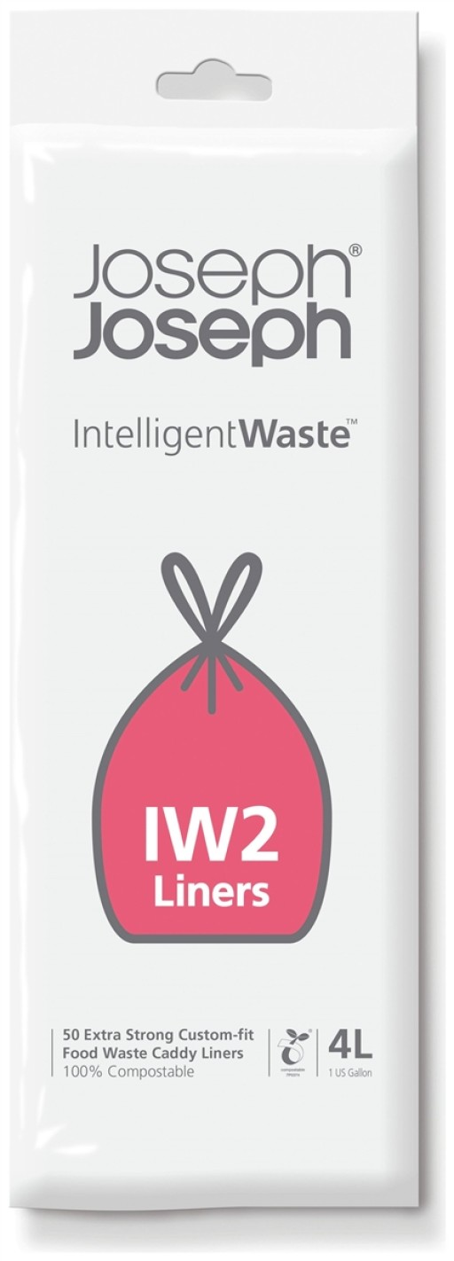 Joseph Joseph IW2 Stack Food Waste Caddy Liners 4L 30007