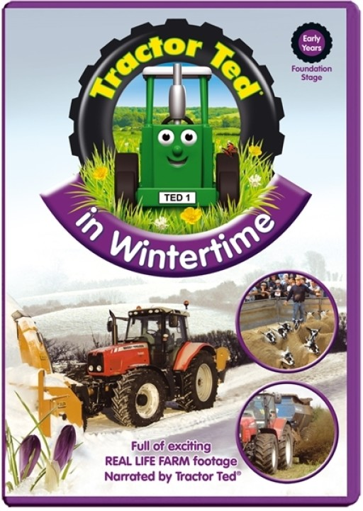 Tractor Ted In Wintertime