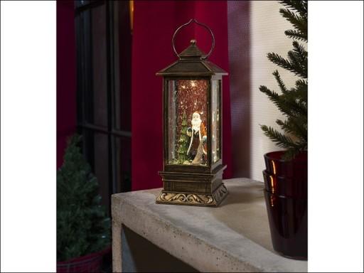 Konst Lantern Santa