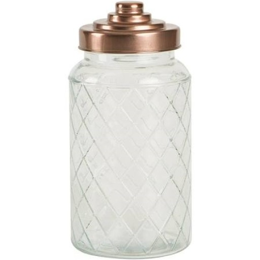 Lattice Jar Copper Lid