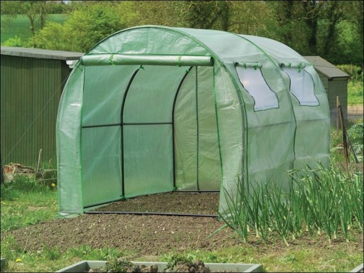 Gardman 08732 Walk In Polytunnel Improved