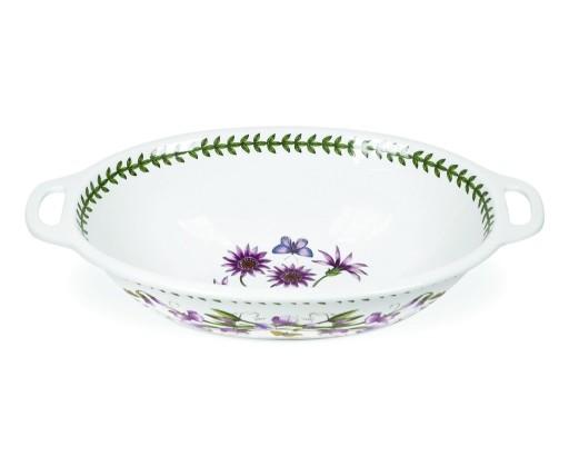 Botanic Oval Handled Bowl