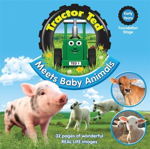 Tractor Ted Book Meets Baby Animals