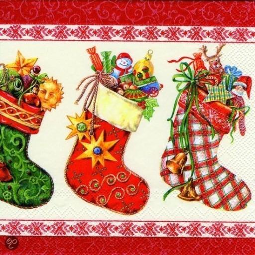 Napkin Christmas Stocking