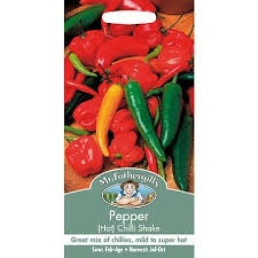 Pepper Hot Chilli Shake