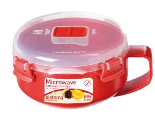 Sistema Microwave Porridge Bowl