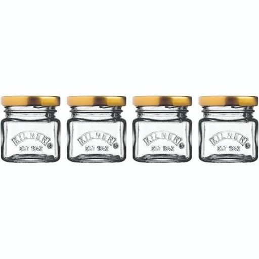 Kilner Shot Jar With Lid Set Of 4