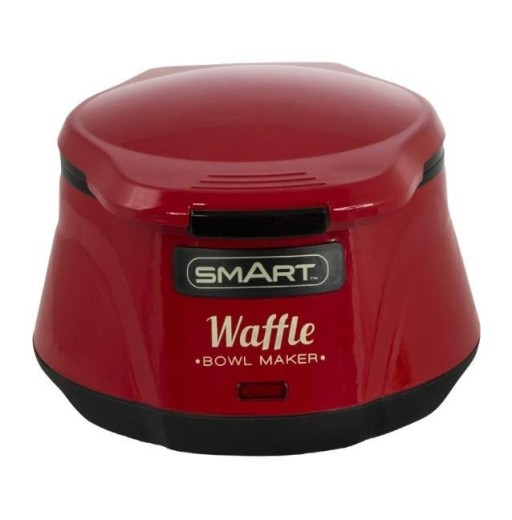 Waffle Bowl Red