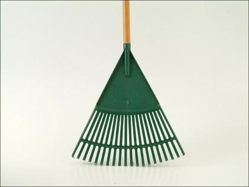 Leaf Rake Wooden Handle 27 Tooth R1676