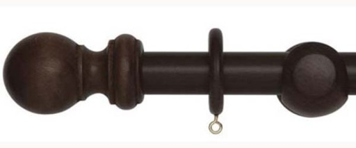 Woodline 28Mm Wooden Curtain Poles