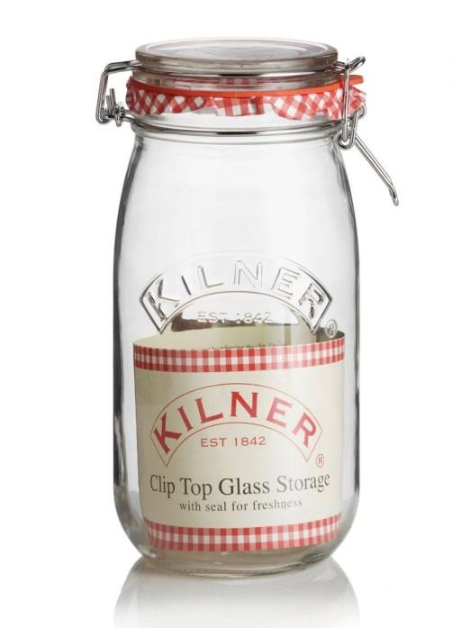 Kilner Jar Clip Top Round 1.5L