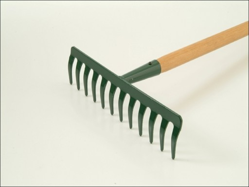 Garden Rake Wooden Handle 12 Tooth R1645