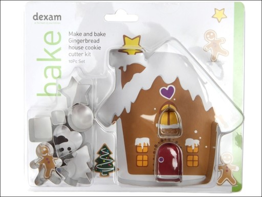 Cookie Cutter Gingerbread House