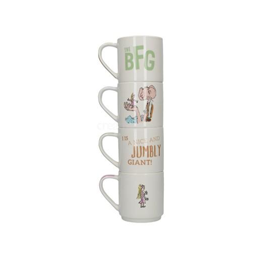 Bfg Set Of 4 Stacking Mug
