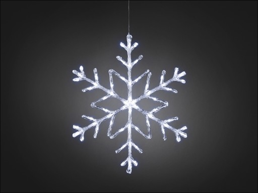 Konst Snowflake Led White