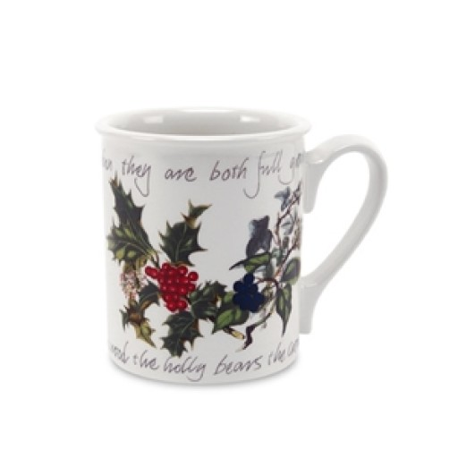 Holly & Ivy Breakfast Mug