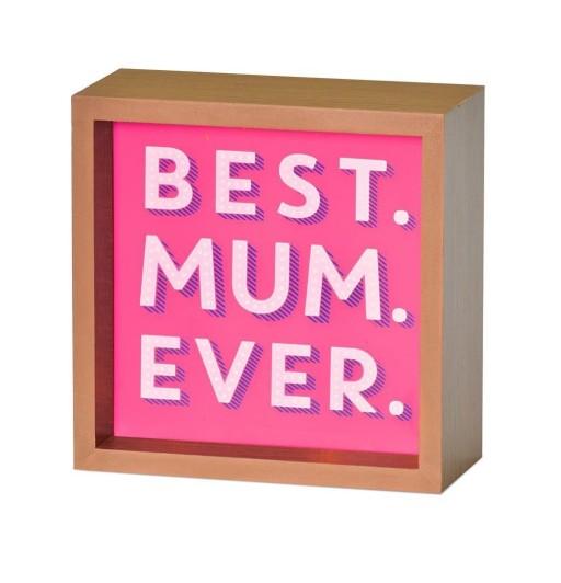 Light Box Best Mum