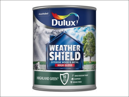 Dulux Weather Shield Gloss Highland Green 750Ml